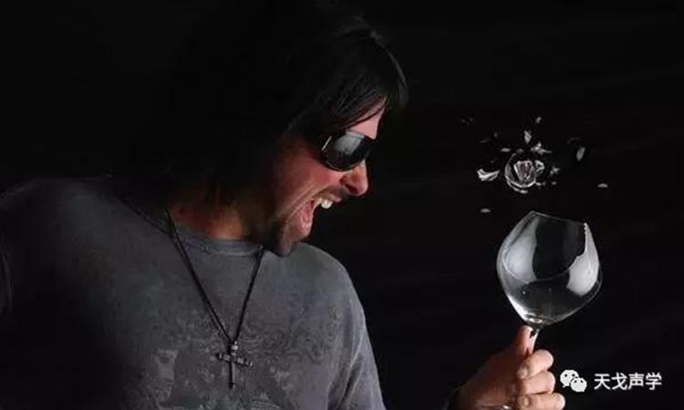 声音可以震碎酒杯