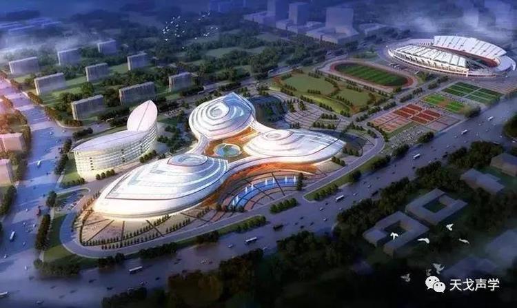 广西百色体育中心声学设计工程