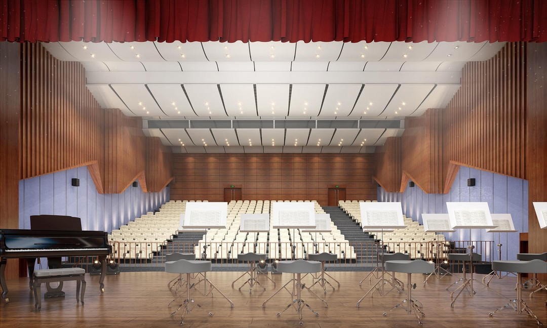 河北保定音乐厅声学设计