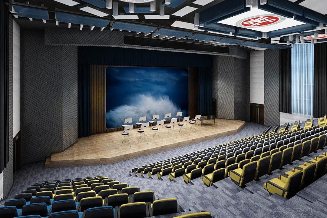 华商外国语学校音乐厅声学设计