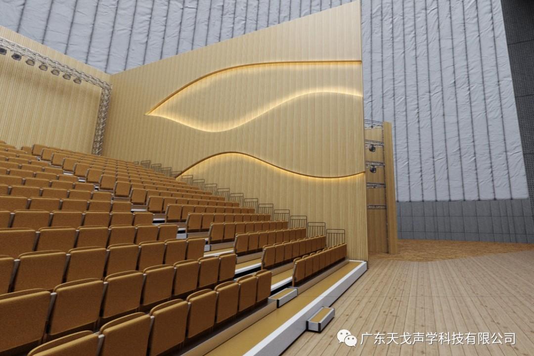 宁夏中卫沙坡头星空剧场设计效果图