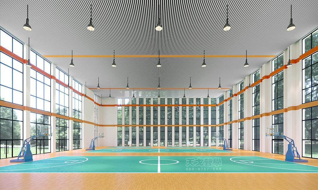 中医药大学风雨室内操场