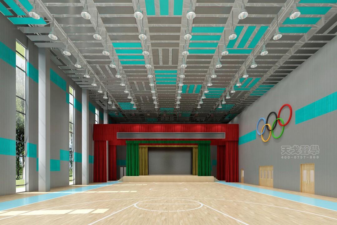 湖南株洲第一中学体育馆