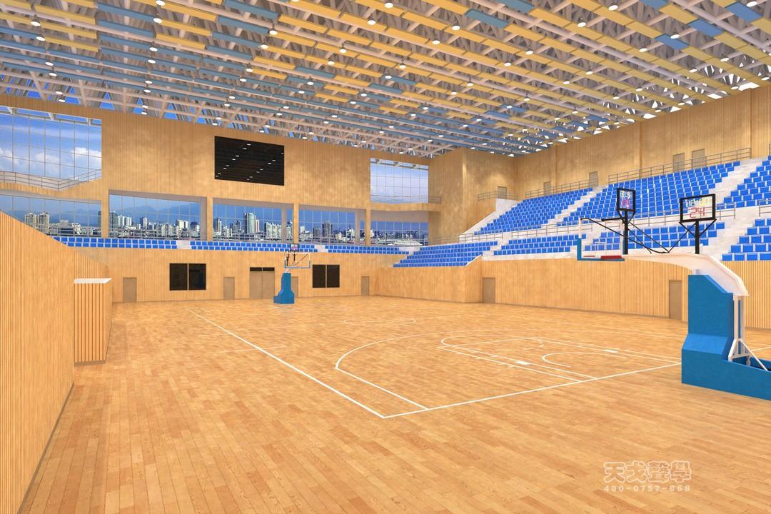 罗山新区体育中心