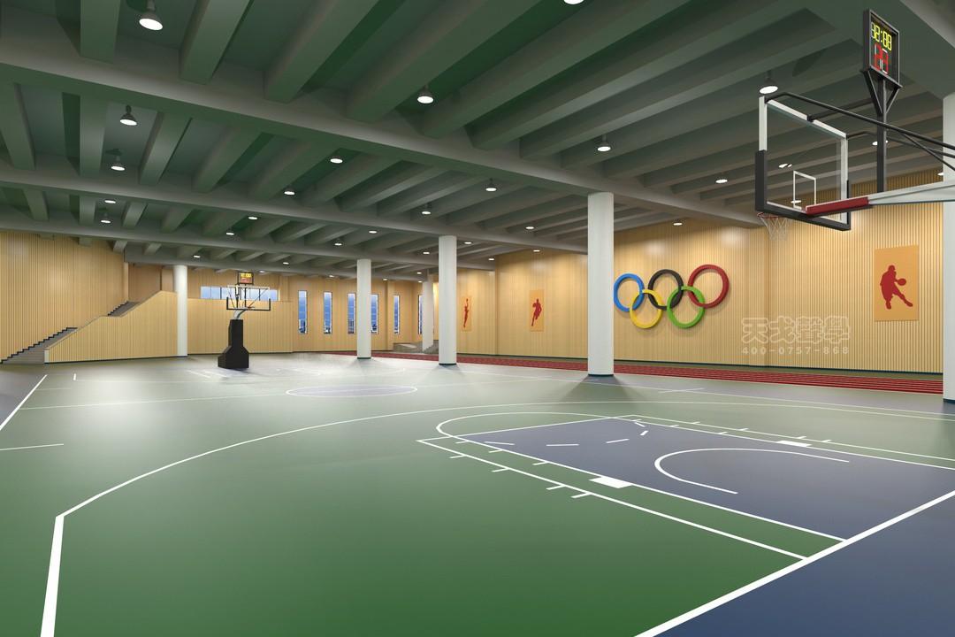 湖南长沙财经学校体育活动中心