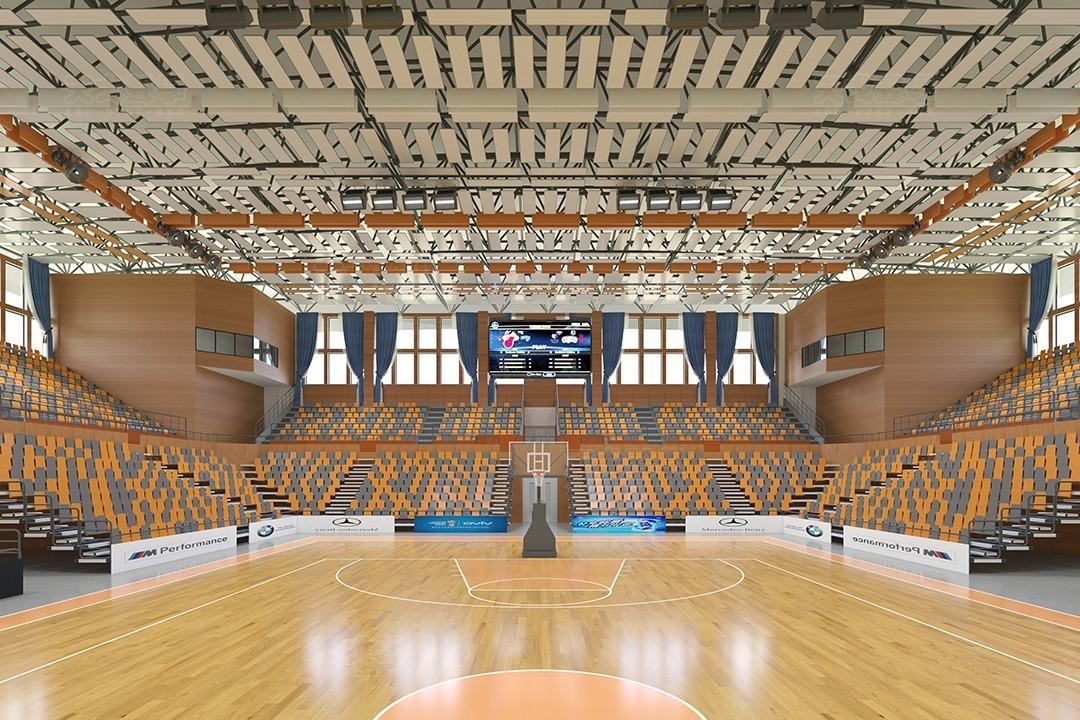 中科大学篮球馆