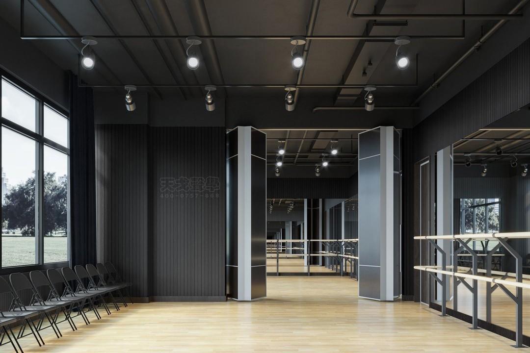 深圳国际交流学院舞蹈室