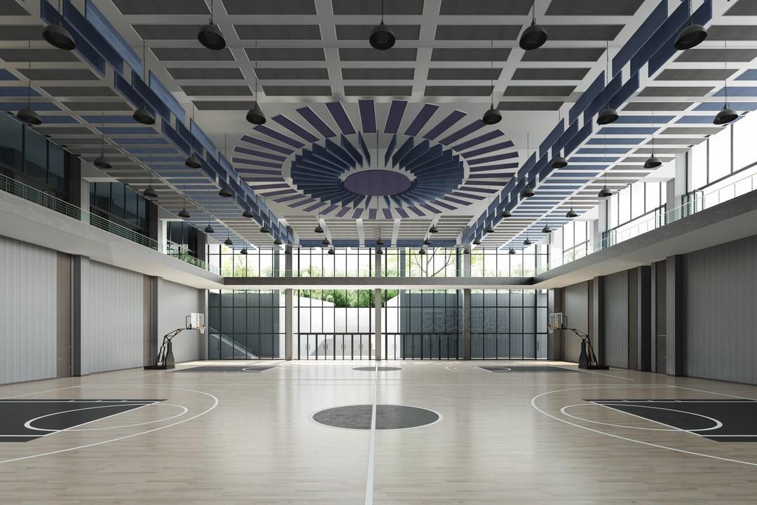 深圳国际交流学院篮球馆