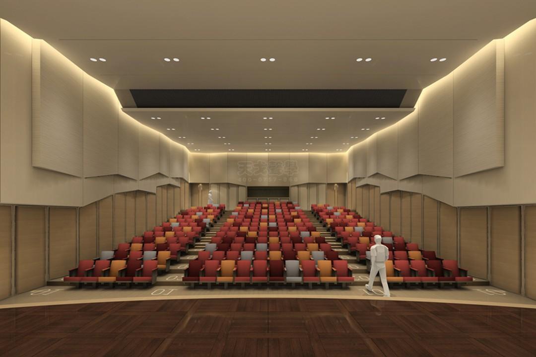陕西西安音乐学院交响音乐厅-2