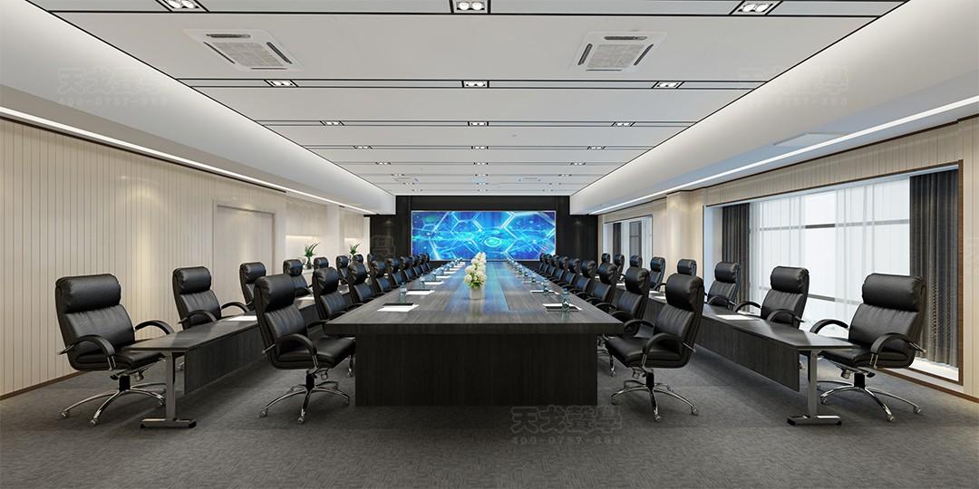 广东深圳水务调度中心大会议室