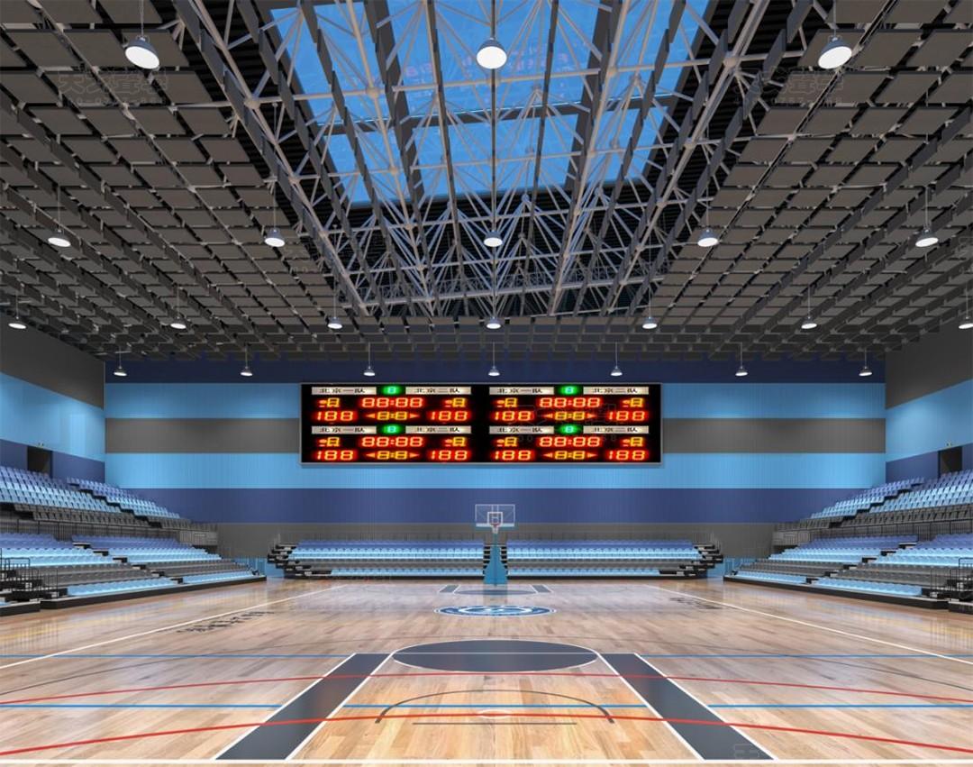 广西工业大学体育中心-1