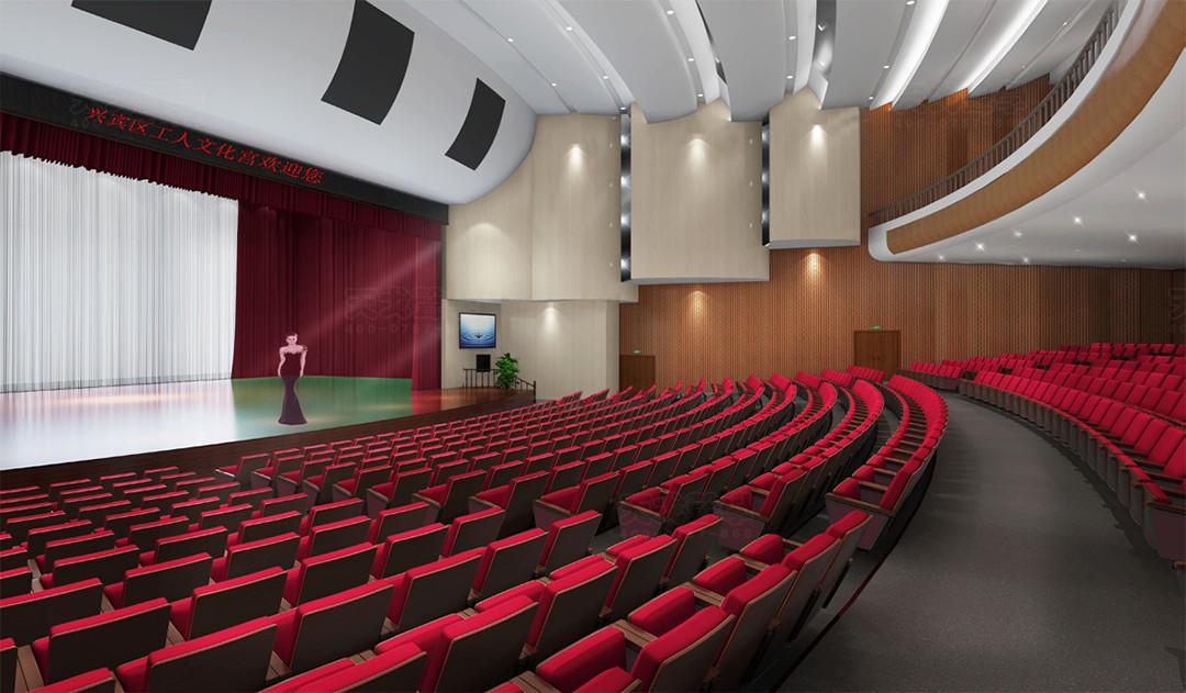 广西来宾工人文化宫剧院
