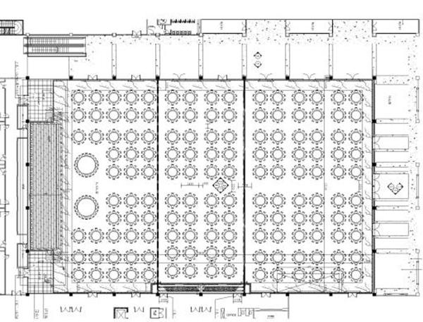 宴会厅平面图