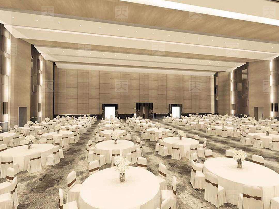 宴会厅声学设计效果图1
