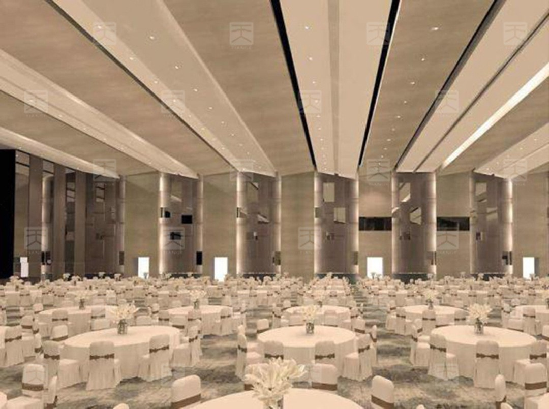 宴会厅声学设计效果图2