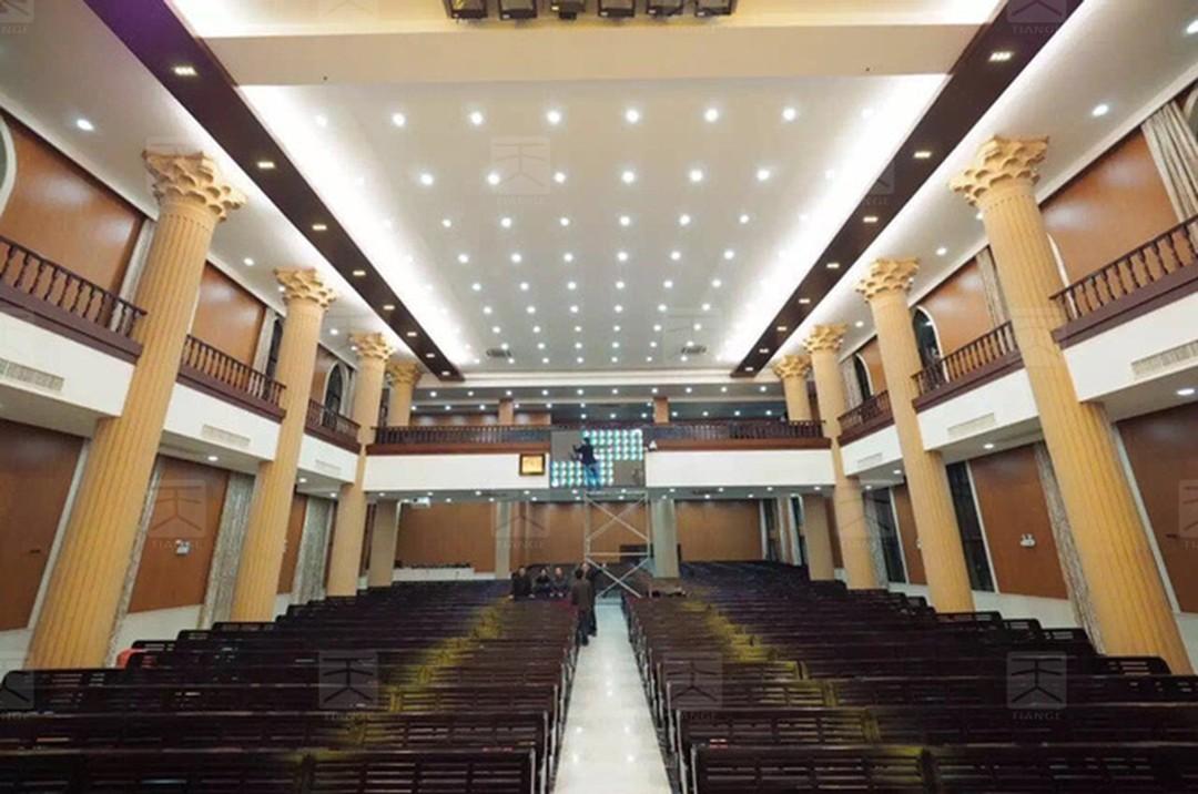浙江温州基督教教堂声学工程
